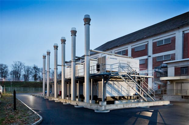 Data Center 2 at Strasbourg Europe (Generating Sets)