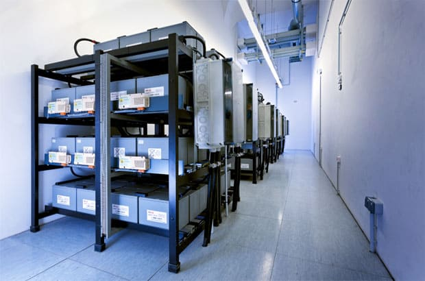 Data Center 2 at Strasbourg Europe (Accumulator Racks)